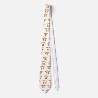 Montana 55 Birthday Designs Tie