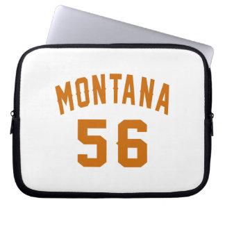 Montana 56 Birthday Designs Laptop Sleeve