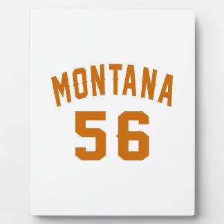 Montana 56 Birthday Designs Plaque