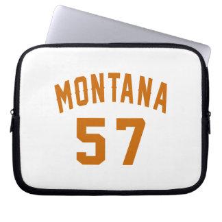 Montana 57 Birthday Designs Laptop Sleeve