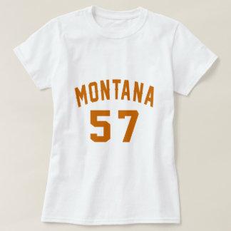 Montana 57 Birthday Designs T-Shirt