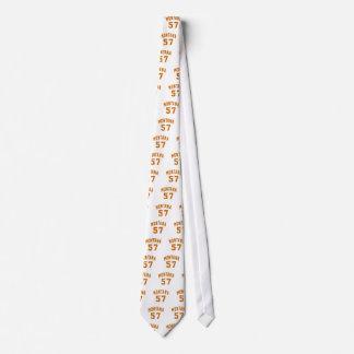 Montana 57 Birthday Designs Tie