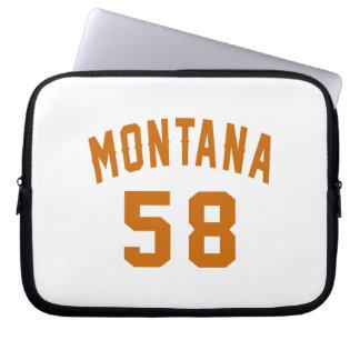 Montana 58 Birthday Designs Laptop Sleeve