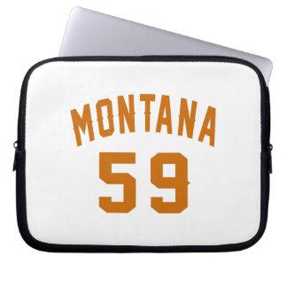 Montana 59 Birthday Designs Laptop Sleeve