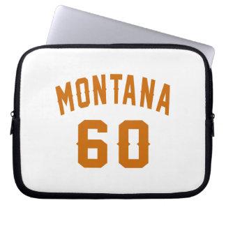 Montana 60 Birthday Designs Laptop Sleeve