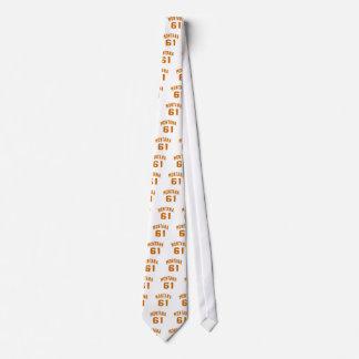 Montana 61 Birthday Designs Tie