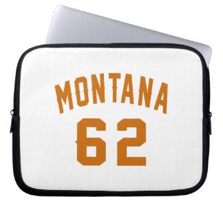 Montana 62 Birthday Designs Laptop Sleeve