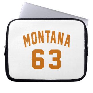 Montana 63 Birthday Designs Laptop Sleeve
