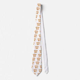Montana 63 Birthday Designs Tie