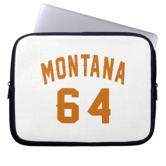 Montana 64 Birthday Designs Laptop Sleeve
