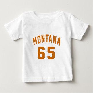 Montana 65 Birthday Designs Baby T-Shirt