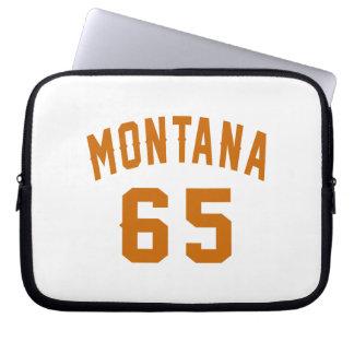 Montana 65 Birthday Designs Laptop Sleeve
