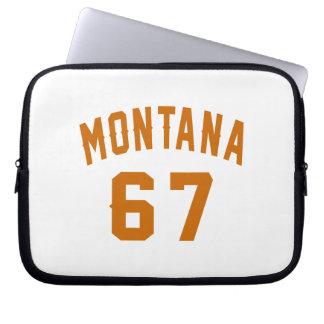 Montana 67 Birthday Designs Laptop Sleeve
