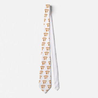 Montana 67 Birthday Designs Tie