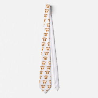 Montana 68 Birthday Designs Tie