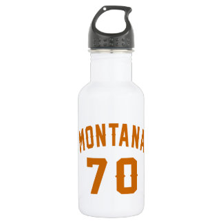 Montana 70 Birthday Designs 532 Ml Water Bottle