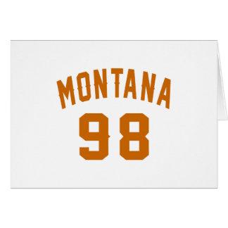 Montana 98 Birthday Designs Card