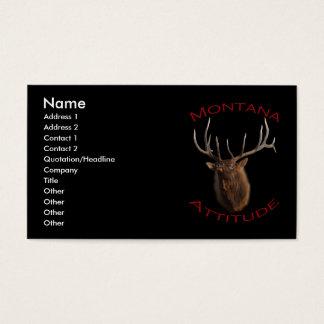Montana Attitude Business Card