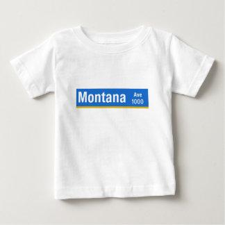 Montana Avenue, Los Angeles, CA Street Sign Baby T-Shirt