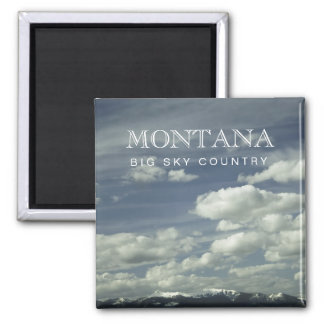 Montana Big Sky Country Magnet