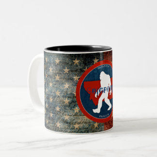 Montana Bigfoot Project Flag Coffee Mug