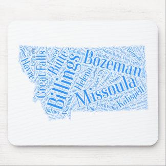 Montana-blue Mouse Pad