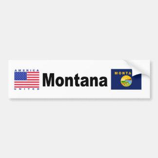 Montana Bumper Sticker