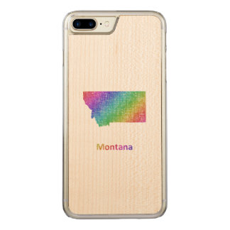 Montana Carved iPhone 8 Plus/7 Plus Case