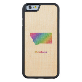 Montana Carved Maple iPhone 6 Bumper Case