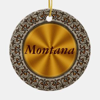 Montana Ceramic Ornament