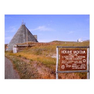 Montana Cheyenne Postcard