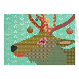 Montana  Christmas Greeting Greeting Card