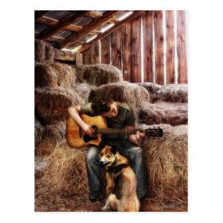 Montana Cowboy by Shawna Mac Postcard