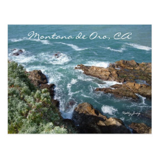 Montana de Oro, CA Postcard