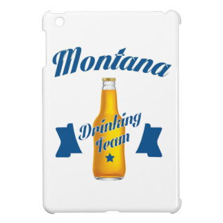 Montana Drinking team iPad Mini Cases