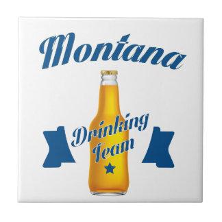 Montana Drinking team Tile