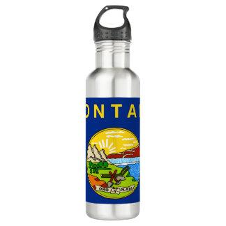 Montana Flag 710 Ml Water Bottle