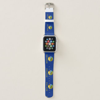 Montana Flag Apple Watch Band