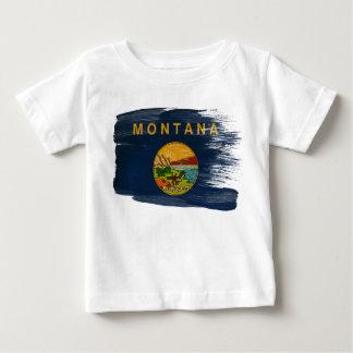Montana Flag Baby T-Shirt