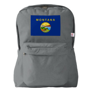 Montana Flag Backpack