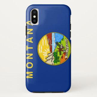 Montana Flag iPhone X Case