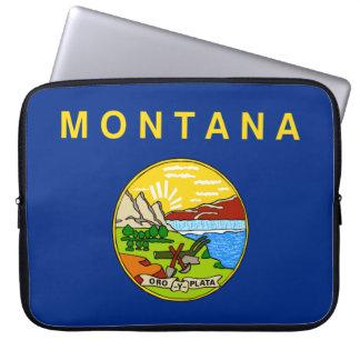 Montana Flag Laptop Sleeve