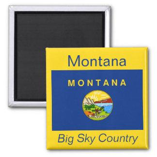 Montana Flag Magnet
