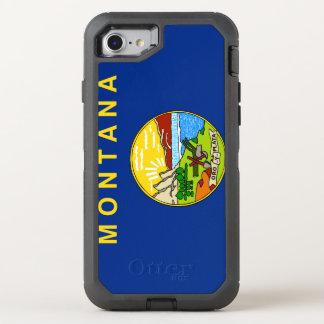 Montana Flag OtterBox Defender iPhone 8/7 Case