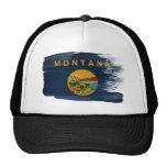 Montana Flag Trucker Hat