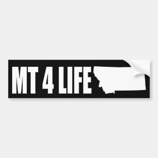 Montana For Life Bumper Sticker Dark