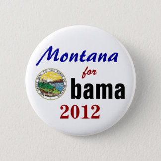 Montana for Obama 2012 2 Inch Round Button