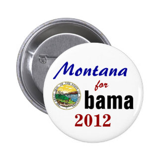 Montana for Obama 2012 2 Inch Round Button