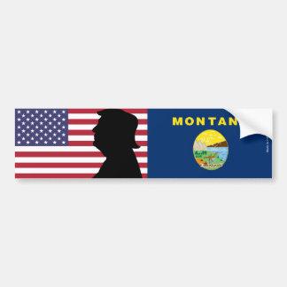 Montana for Trump Bumper Sticker