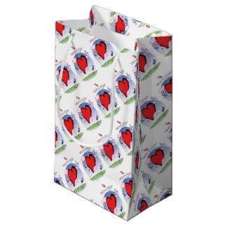 montana head heart, tony fernandes small gift bag